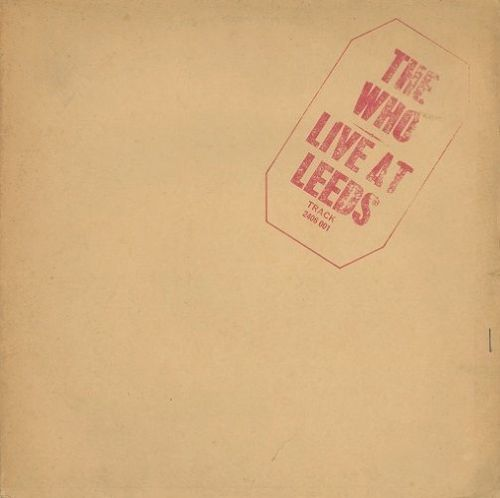 THE WHO Live At Leeds Vinyl Record LP Track 1970...